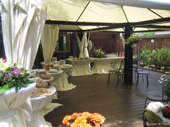 ristorante principato ariis cerimonie1 585x439 Galleria foto cerimonie al Principato di Ariis