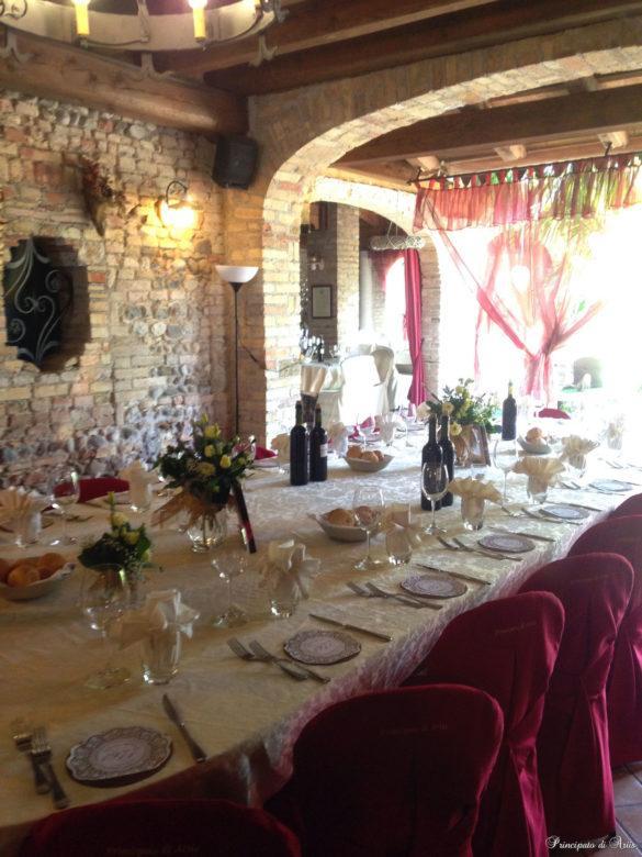 ristorante principato ariis cerimonie109 585x780 Galleria foto cerimonie al Principato di Ariis