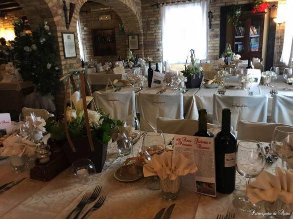 ristorante principato ariis cerimonie23 585x439 Galleria foto cerimonie al Principato di Ariis