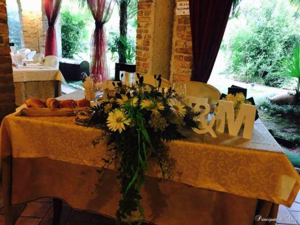 ristorante principato ariis cerimonie27 585x439 Galleria foto cerimonie al Principato di Ariis