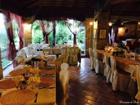 ristorante principato ariis cerimonie29 585x439 Galleria foto cerimonie al Principato di Ariis