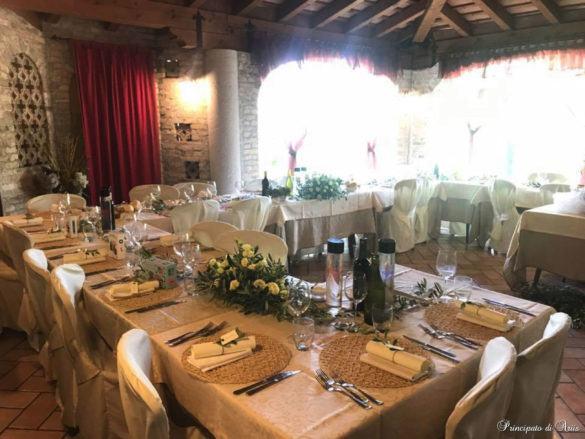 ristorante principato ariis cerimonie30 585x439 Galleria foto cerimonie al Principato di Ariis