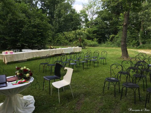 ristorante principato ariis cerimonie50 585x439 Galleria foto cerimonie al Principato di Ariis