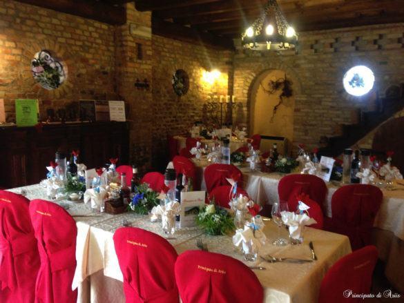ristorante principato ariis cerimonie91 585x439 Galleria foto cerimonie al Principato di Ariis