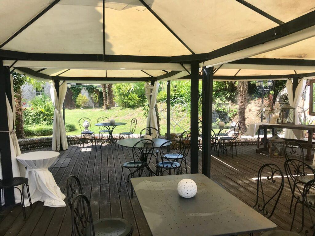 IMG 0272 1024x768 Le nostre proposte per menu di gruppo nella nostra veranda/giardino