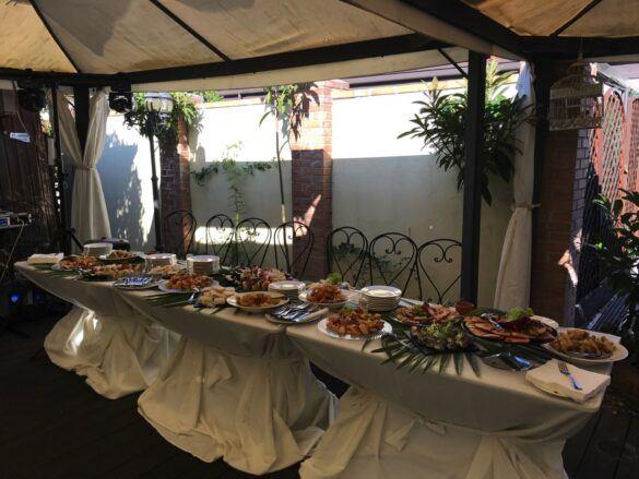 02 veranda giardino ristorante eventi cerimonie 585x439 Eventi e cerimonie, Veranda esterna e giardino | Ristorante Rivignano Friuli