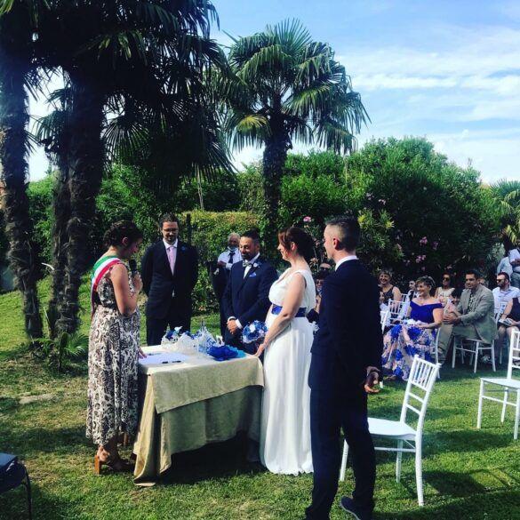 04 veranda giardino ristorante eventi cerimonie 585x585 Eventi e cerimonie, Veranda esterna e giardino | Ristorante Rivignano Friuli
