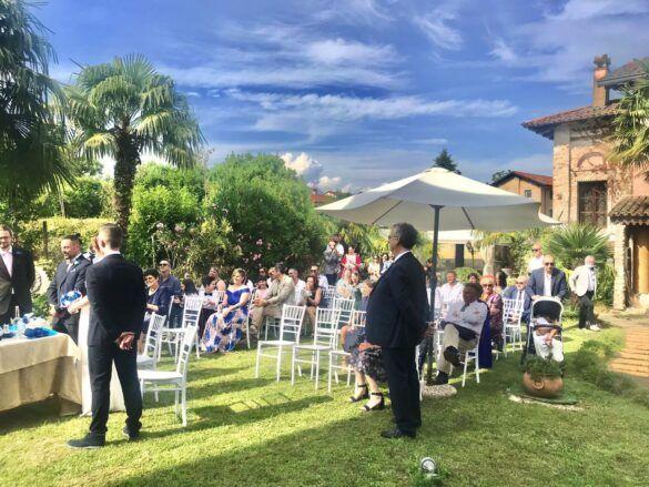 05 veranda giardino ristorante eventi cerimonie 585x439 Eventi e cerimonie, Veranda esterna e giardino | Ristorante Rivignano Friuli