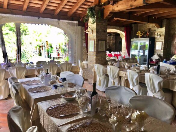 07 veranda giardino ristorante eventi cerimonie 585x439 Eventi e cerimonie, Veranda esterna e giardino | Ristorante Rivignano Friuli