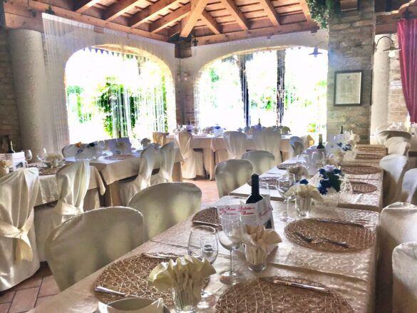 08 veranda giardino ristorante eventi cerimonie 585x439 Eventi e cerimonie, Veranda esterna e giardino | Ristorante Rivignano Friuli