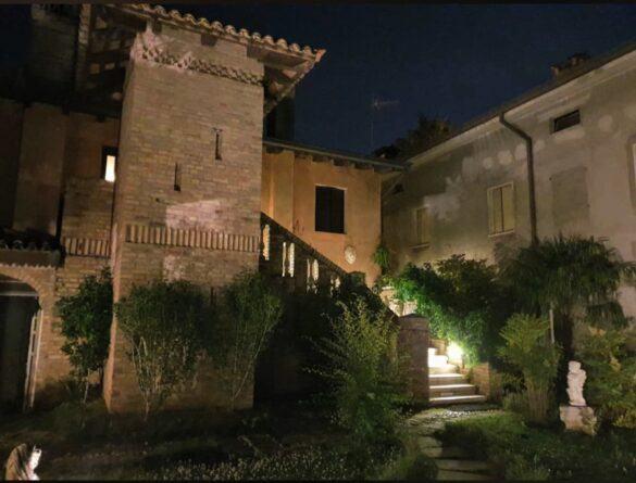 09 veranda giardino ristorante eventi cerimonie 585x445 Eventi e cerimonie, Veranda esterna e giardino | Ristorante Rivignano Friuli