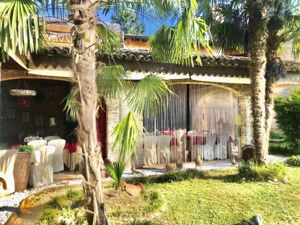 10 veranda giardino ristorante eventi cerimonie 585x439 Eventi e cerimonie, Veranda esterna e giardino | Ristorante Rivignano Friuli