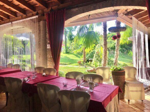 13 veranda giardino ristorante eventi cerimonie 585x439 Eventi e cerimonie, Veranda esterna e giardino | Ristorante Rivignano Friuli