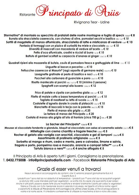ristorante alla carta Eventi e cerimonie, Veranda esterna e giardino | Ristorante Rivignano Friuli