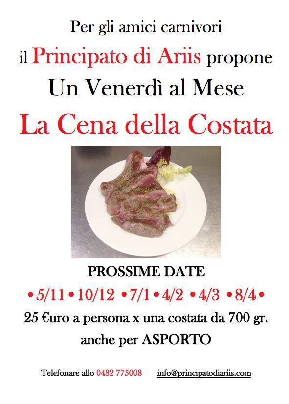 cena costata da agosto 2022 x2 1 Appuntamento mensile con la Cena della Costata di Manzo